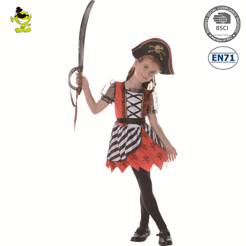 A New arrival sexy Luxury girl pirate costumes for halloween party