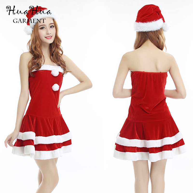9e323620cc0 Get Quotations · 2015 The Halloween Costume fun Sexy Christmas Women  Clothes Xmas Costume Cosplay Dress Up Outfit