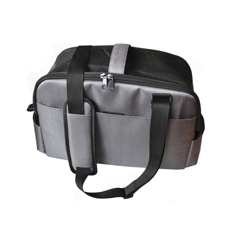Outdoor Soft-sided Maglia Pet Carrier tote bag Zaino Per Viaggi Draw-bar Box