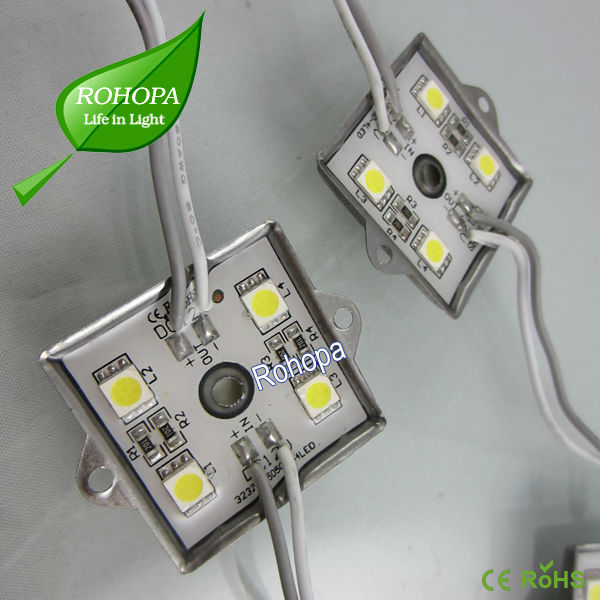 Square iron case 5050 LED module for lighting solution