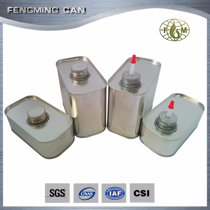 rectangular tin can, chemical oil packaging square can, high quality good price tin cans wholesale