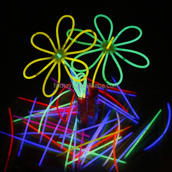 8 inch milti color cheapest glow stick christmas glows stick bracelet for carnival