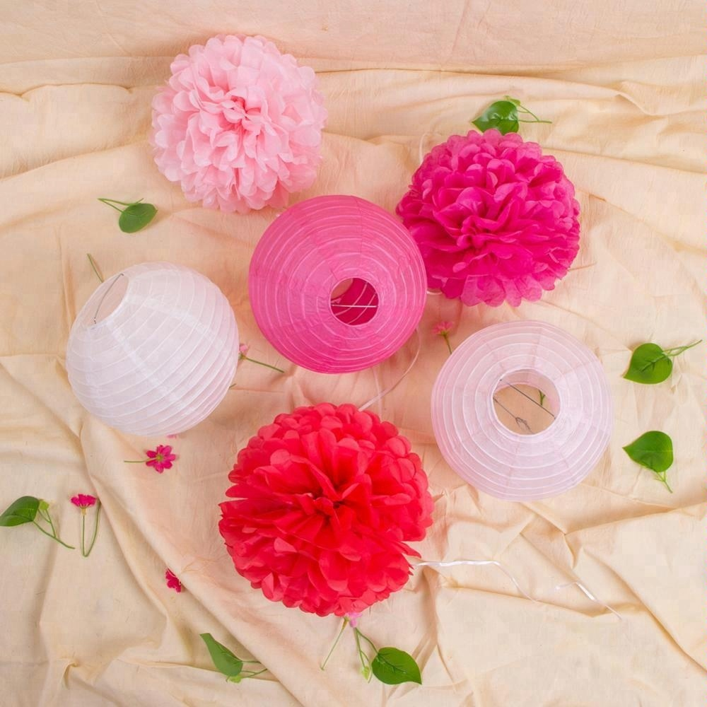 Decorating With Tissue Paper Flowers Decorating With Tissue Paper