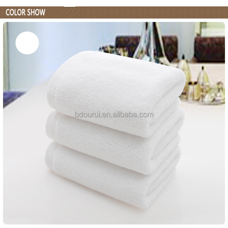 High quality cotton towel disposable square thick towel hand towel for beauty salons