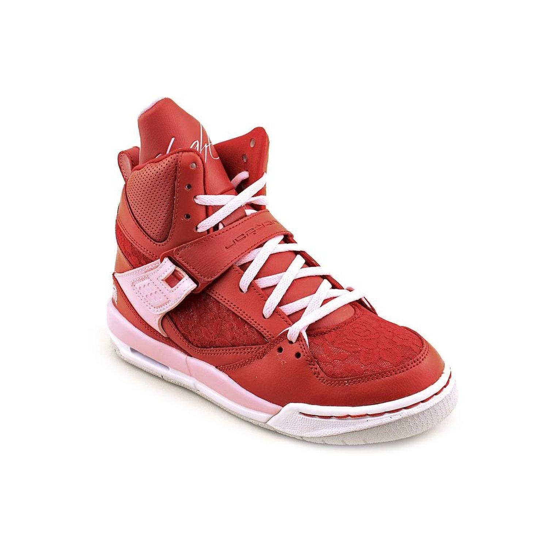 935d9a816e8195 nike air jordan girls FLT flight 45 HI PREM GS valentines trainers 547769  sneakers shoes