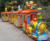 Customize ride on kids electric amusement train rides electric train