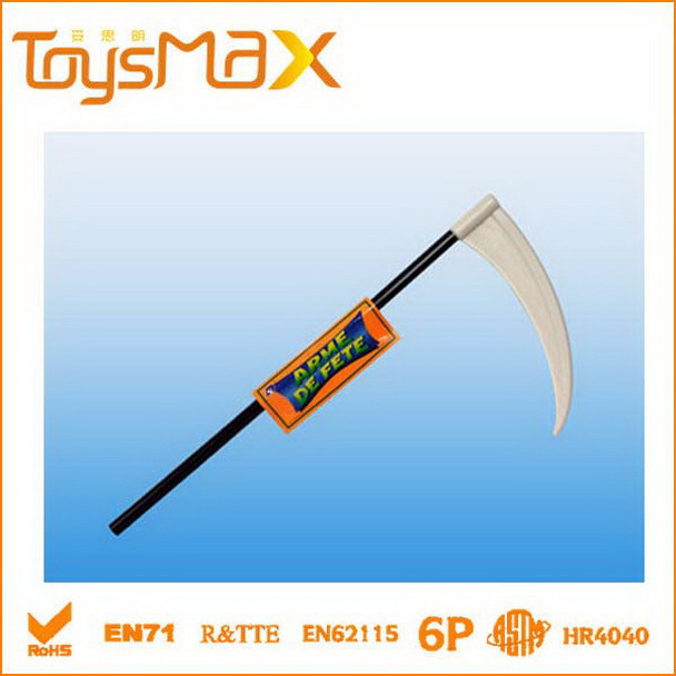 halloween decoration toys Halloween Plastic Double-sided axe with Handle
