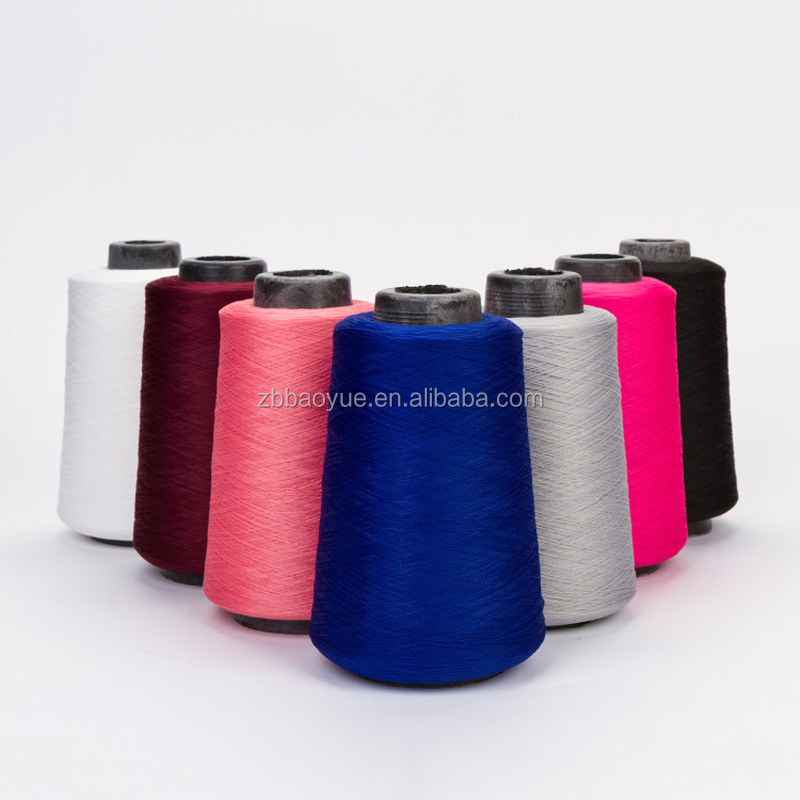100% Polyester Material and Dyed Pattern thread sewing