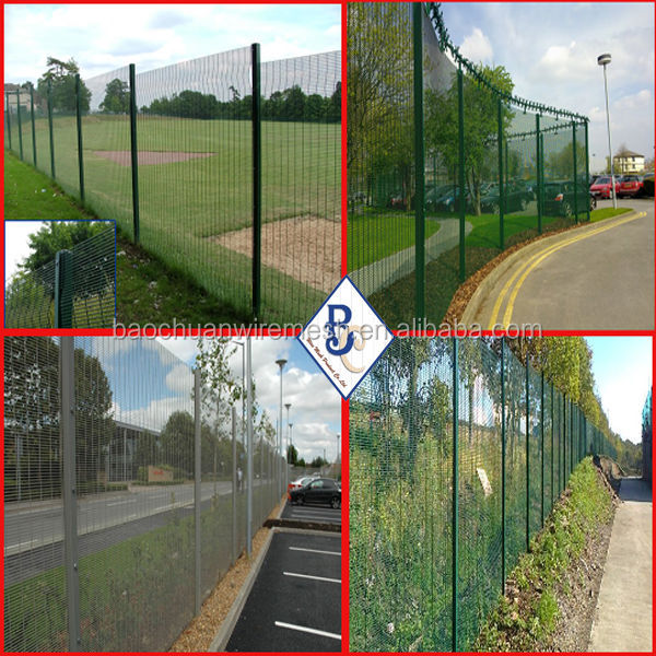 brc residential roll top 358 securiy prison fence