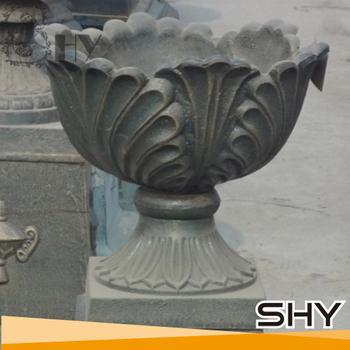 Cast Iron Wholesale Urns Iron Planter For Garden