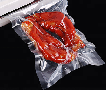 PA/PE Multilayer Co-extrusion 3 Side Sealed Vacuum Pouch