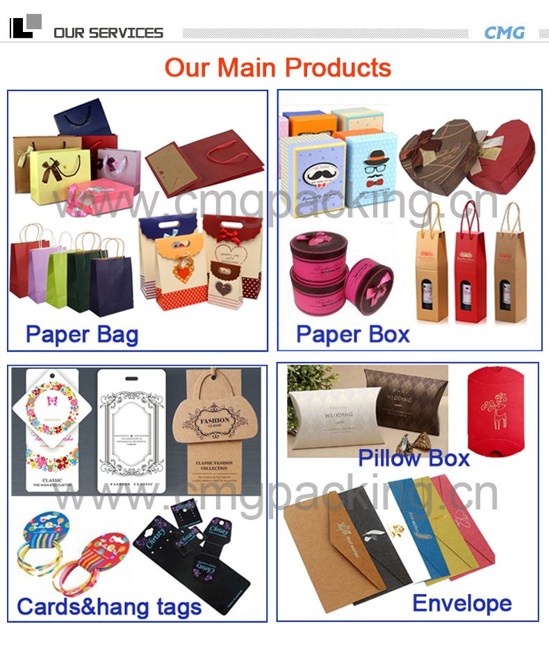 Wholesale Christmas Cosmetic Birthday Wedding Shopping Gift Packing Bag