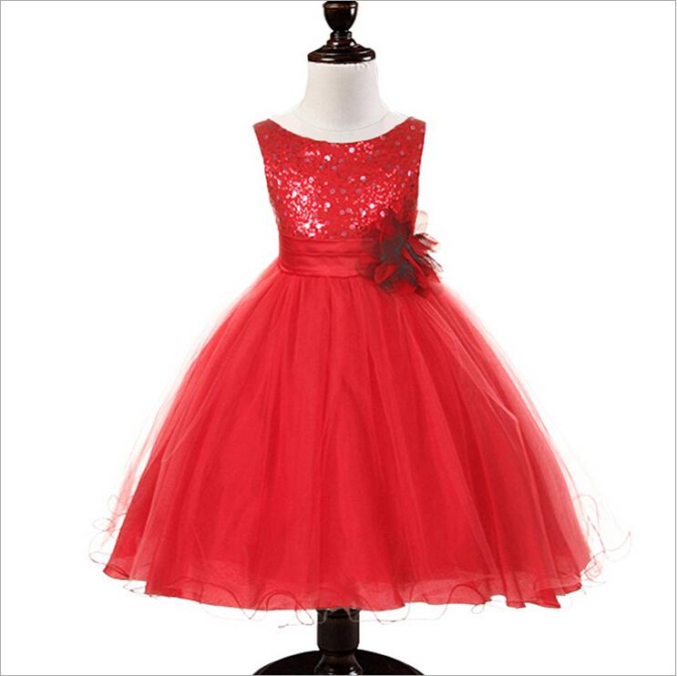 3 bis 10-jährigen Mädchen Phantasie weihnachtsfeier kleid-Dress für ...