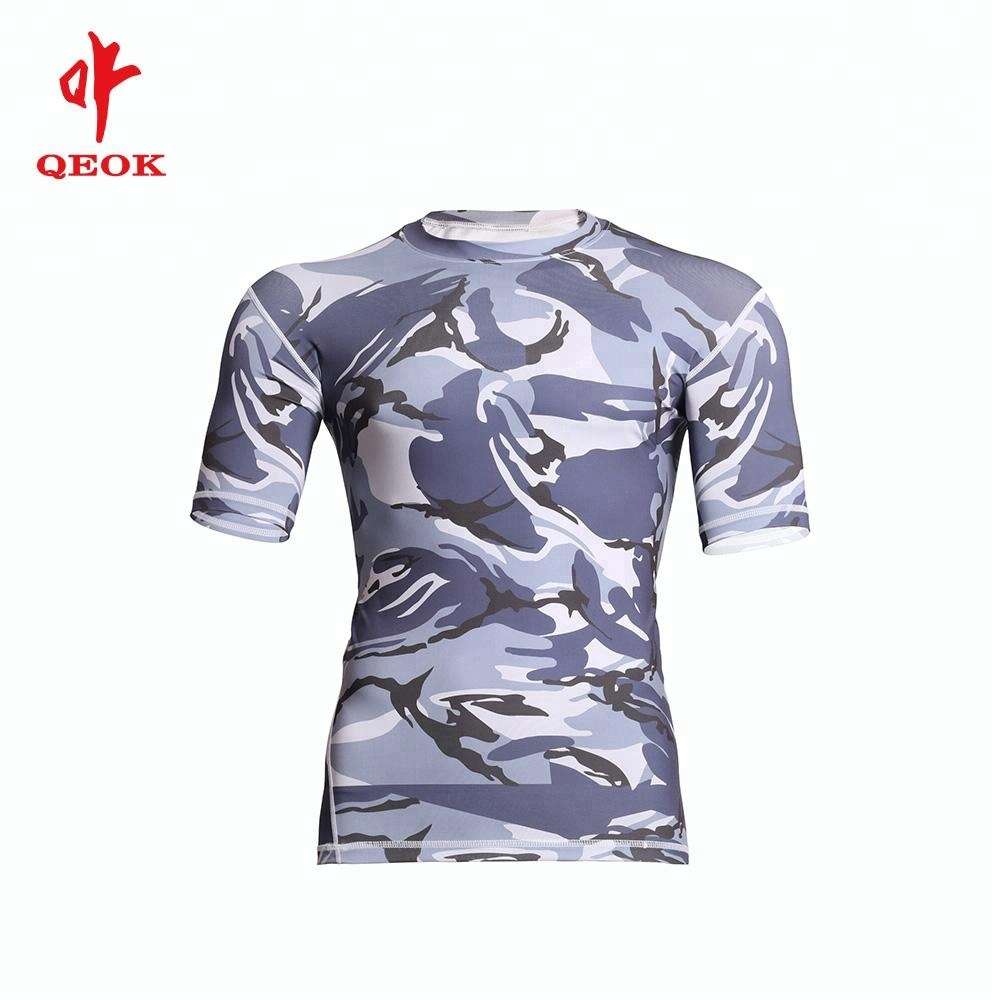 Custom CoolMax Fabric Quick Dry Sport Wear Breathable T Shirt
