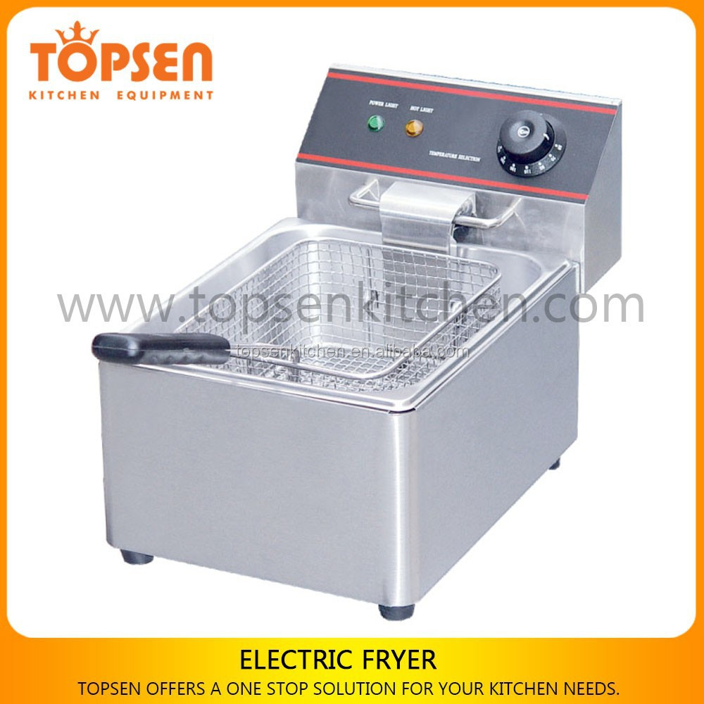 Industrial Deep Fryer Machine 4L,Heavy Duty Electric Industrial Fryer