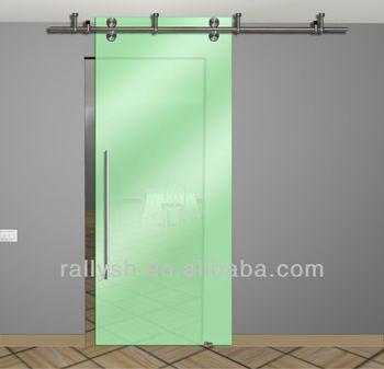 Ym 00 sliding glass door ceiling mount buy acid etched for Ceiling mounted sliding panels