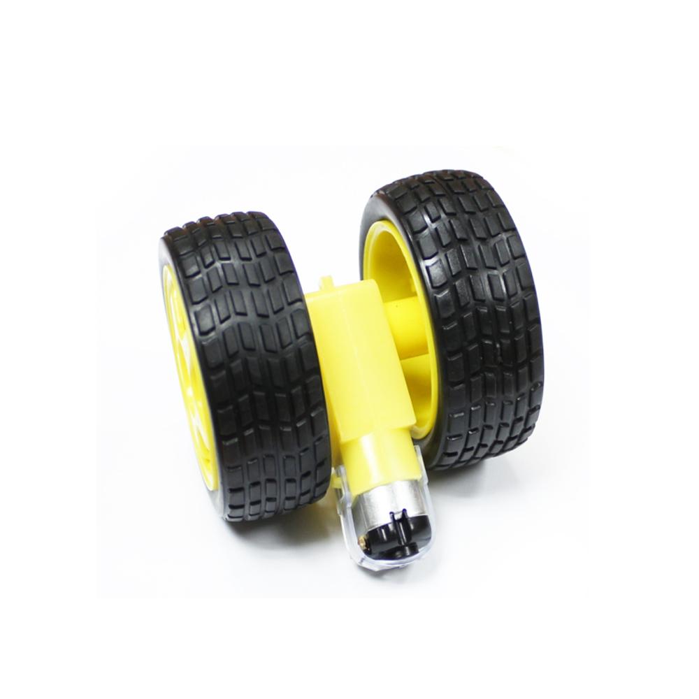 N20 Micro Gear Motor 3PI miniQ Car wheel Tyre Motor Mount
