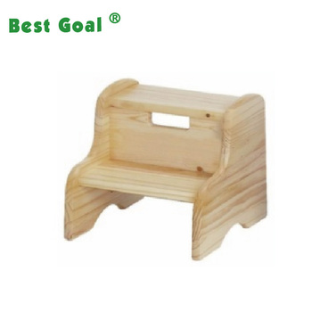 Kids Wooden Step Ladder Stool For Children