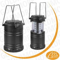 Collapsible Multi-functional 30 led camping Tac Lantern