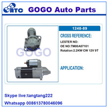 2.2KW <span class=keywords><strong>CW</strong></span> 12 V 9 T Starter Motor OEM TM00A07101
