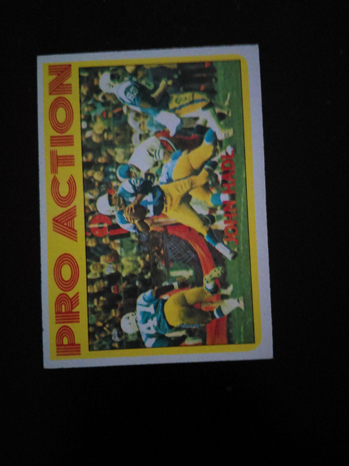 1972 Topps # 254 Pro Action - John Hadl - San Diego Chargers (Football Card)