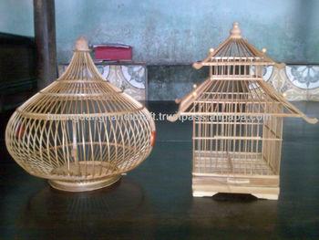 Kandang Burung Bambu Buatan Tangan Buy Bird Cage Bamboo Bird Cage Handmade Bamboo Bird Cage Product On Alibaba Com