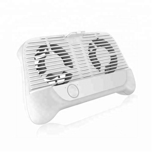 Multi-functional Game Handle Cooling Fan Built-in Dual Cooling Fan Universal Mobile Phone Radiator With Stand For Smartphone