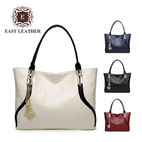 E3029 The large capacity simple pu leather shoulder tote bags wholesales