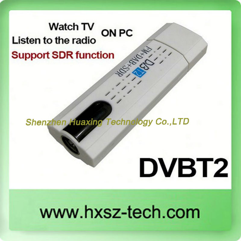 Usb 2.0 Dvb -t2 Tdt Digital Tv for Pc Portable Windows 7