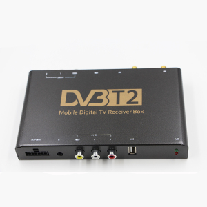 Thailand DVB-T2 MPEG4 full HD car digital mobile TV receiver tuner box Supporting high speed 150km/h