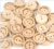 2019 fashion two holes 20mm wood buttons