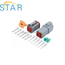 6 Pin Waterproof Auto Connector Deutsch Male Connector Kit