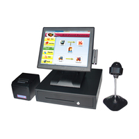 15 Inch Touch POS POS System for Small Retail Business Point of Sale and Inventory POS Cash Register