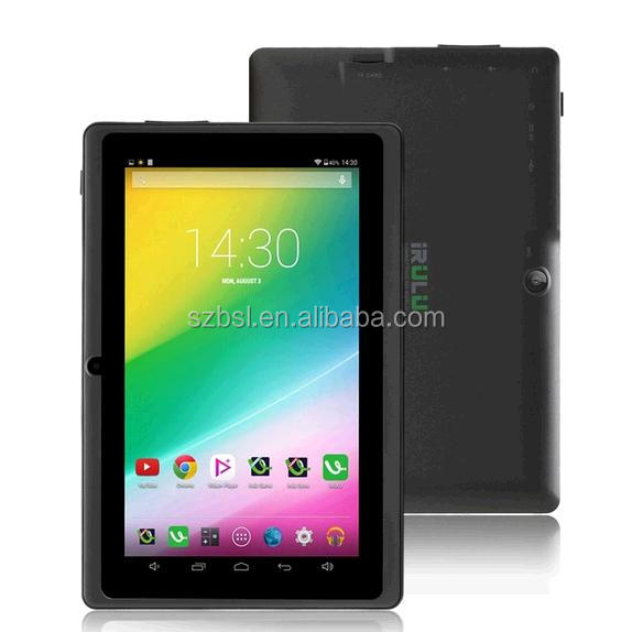 "Großhandelspreis Billig iRULU eXpro X1 7 ""Tablet Allwinner A33 Android 4.4 Quad Core 8 GB ROM 1024*600 HD Tablet PC"