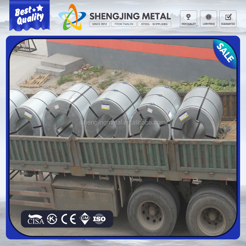 prime dx51d z big small zero spangle hot dip galvanized steel coil gi coil made in TJSJ group
