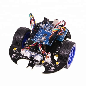 2018 New programmable RC smart Uno educational robot car kit with UNO R3 board
