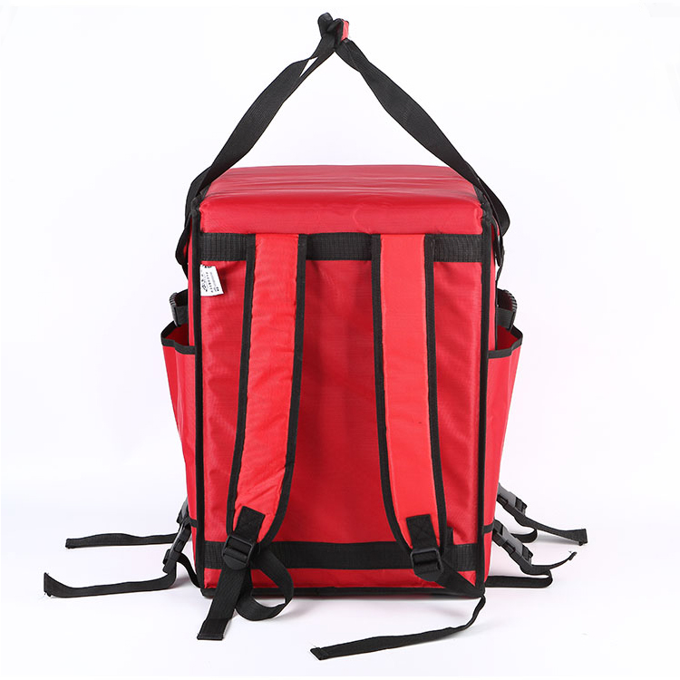 Custom large  backpack cooler  food delivery insulated bag