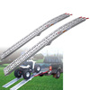 Motorbike ATV ramp without legs Aluminium Loading Ramp Truck Trailer