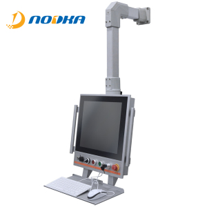 ae16d68ac3d6 21 inch industrial operational arm mounted touch screen monitor VESA  mounting display with arm