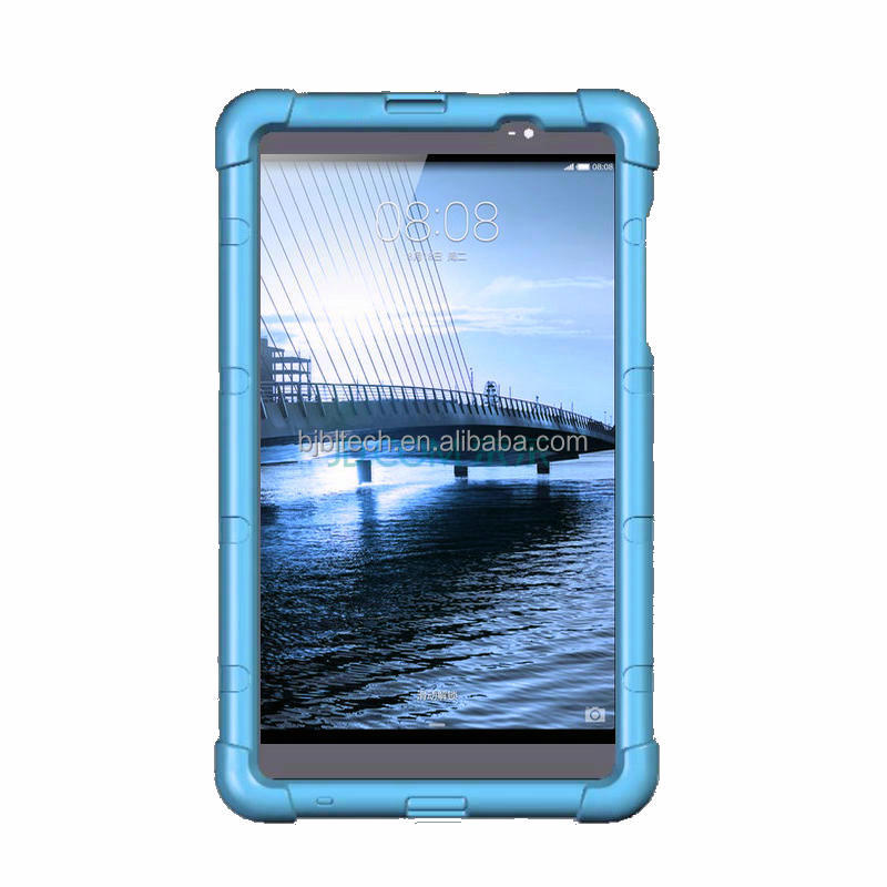 MediaPad M2 8 inch tablet case M2-803L silicone rugged protective case for Huawei 8 inch tablet cover M2-801W