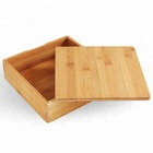 Pan custom engrave logo packaging boxes with magnet bamboo wooden gift box