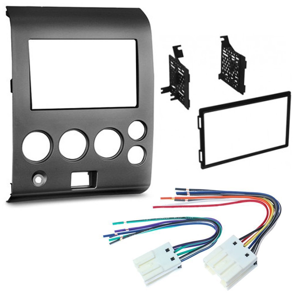 Get Quotations · CAR CD STEREO RECEIVER DASH INSTALL MOUNTING KIT WIRE  HARNESS NISSAN TITAN ARMADA 2004 - 2007