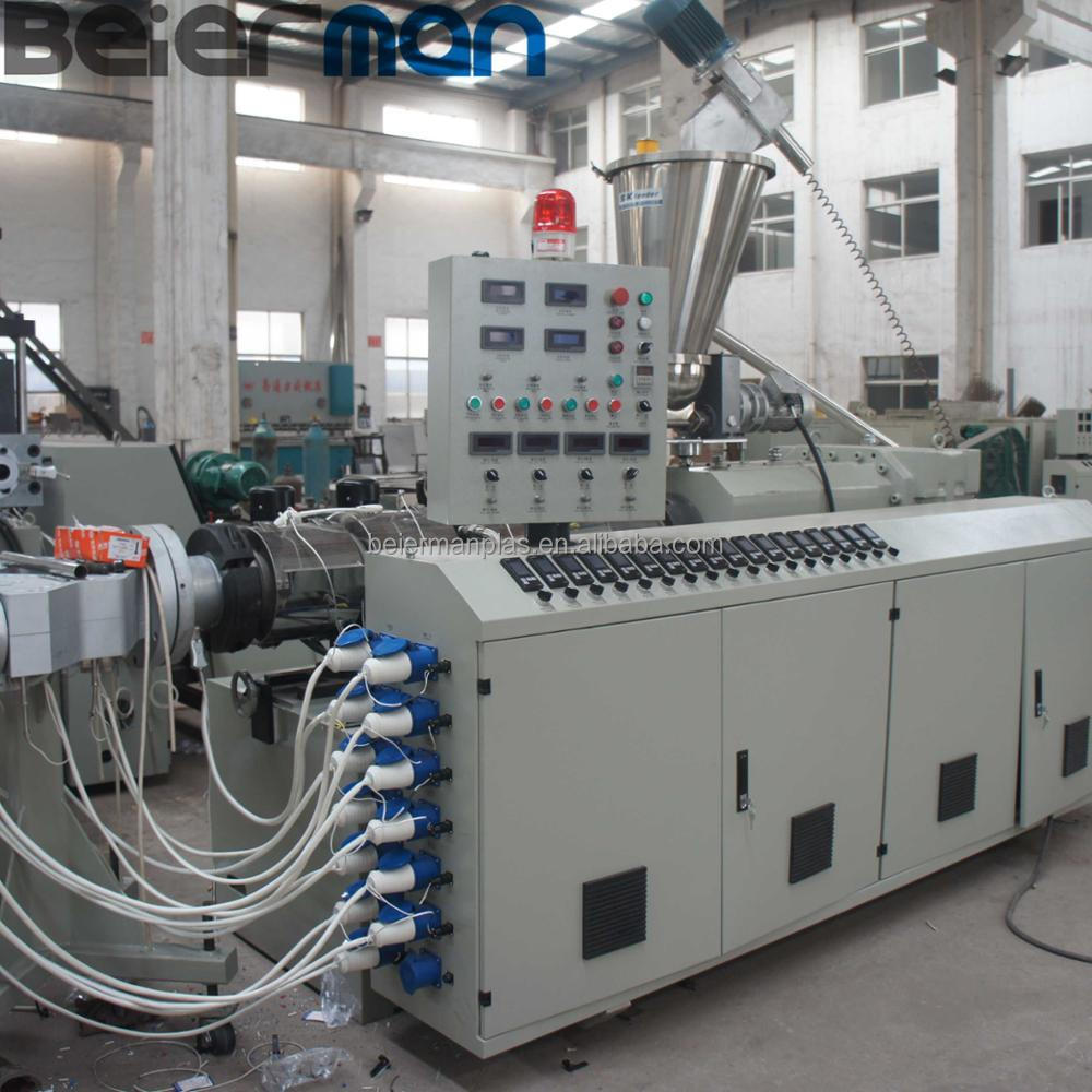 BEIMAN 16mm-40mm four cavity pvc pipe production line in sale