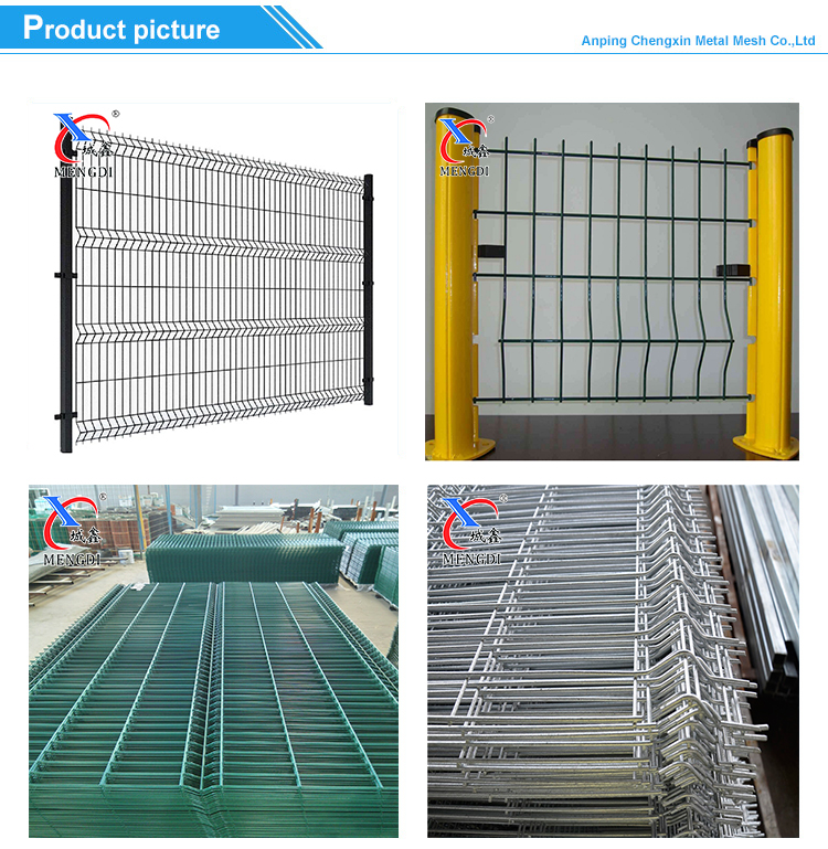 PVC Coated Fence Welded Wire Mesh Fence