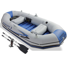 INTEX Mariner 3 Fishing Type 3 person Inflatable Raft River/Lake Dinghy Boat For Fishing