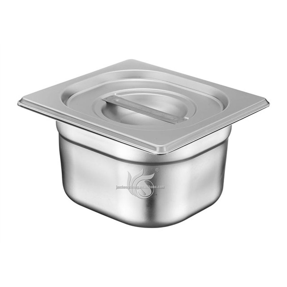 European Style Stainless Steel Buffet Food Container