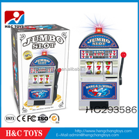 Wholesale musical piggy bank toy slot game machine HC293586