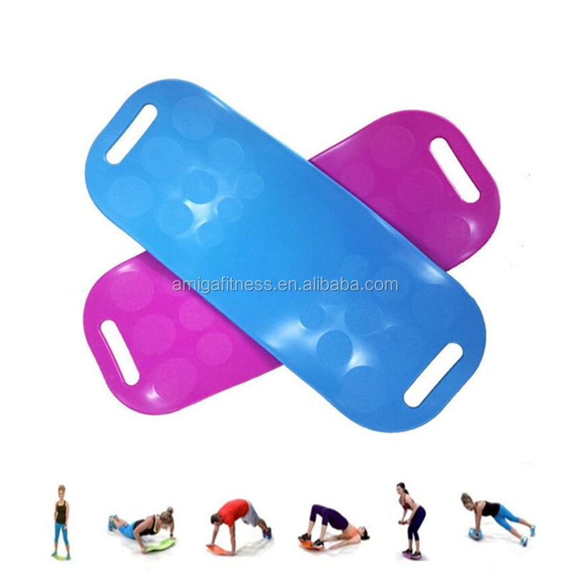 Twisting Fitness Board Core Workout for Abdominal Muscles, Legs Balance yoga Board