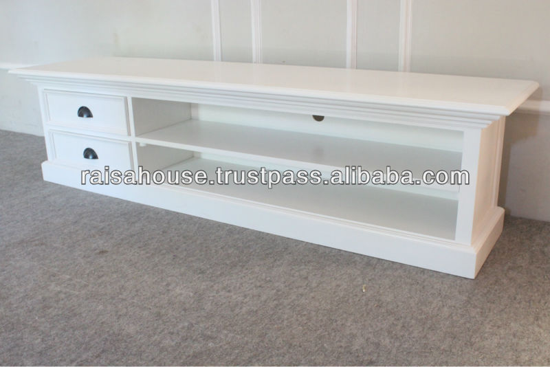 Indonesia Furniture - PLASMA TV STAND WITH 2 DRAWERS