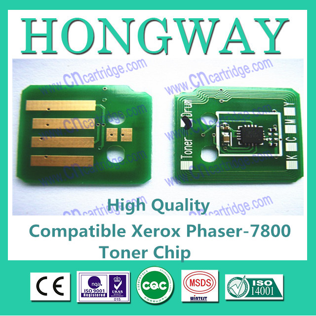 Compatible for Xerox 7800 toner reset chip
